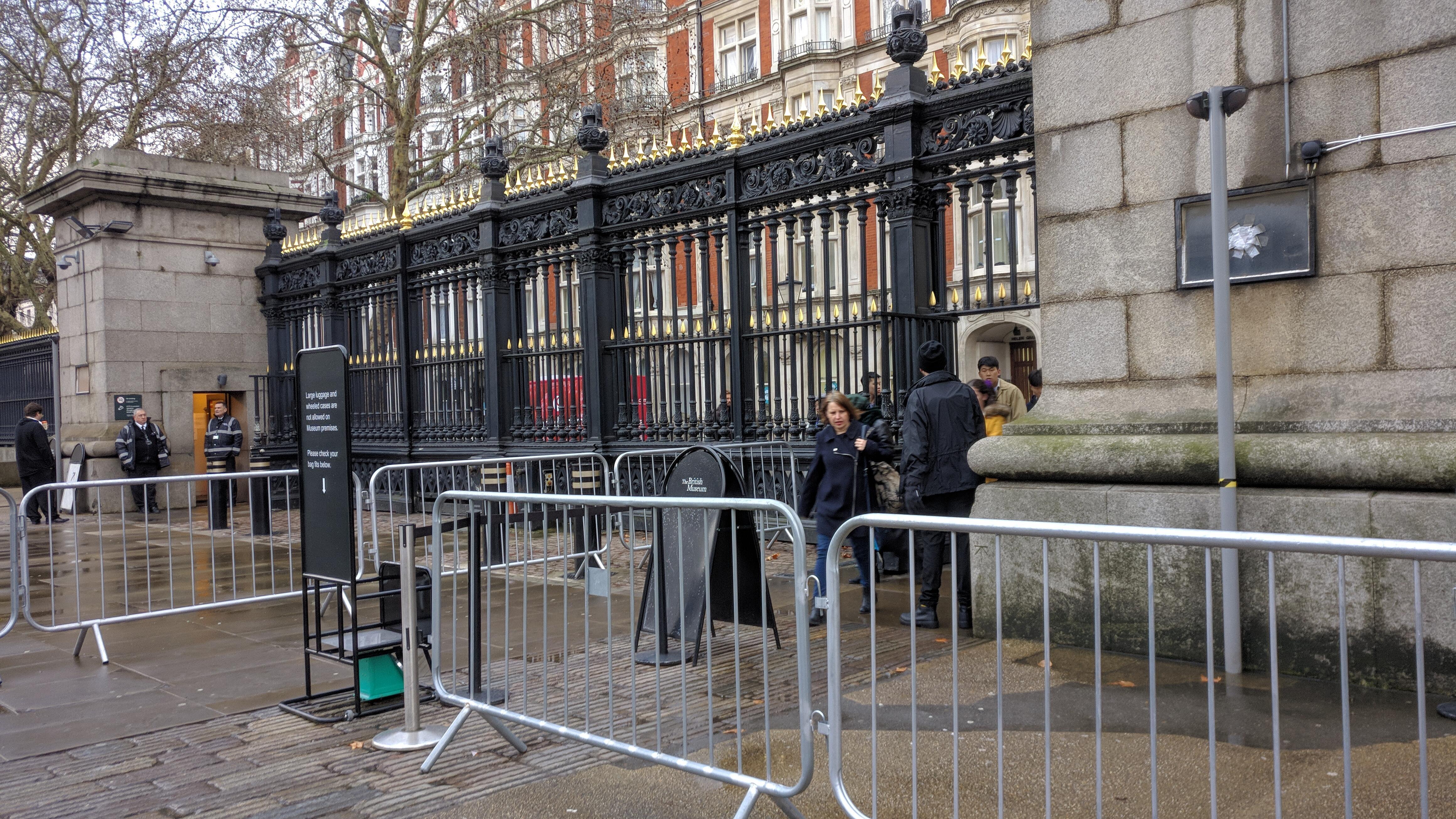 大英博物館大門