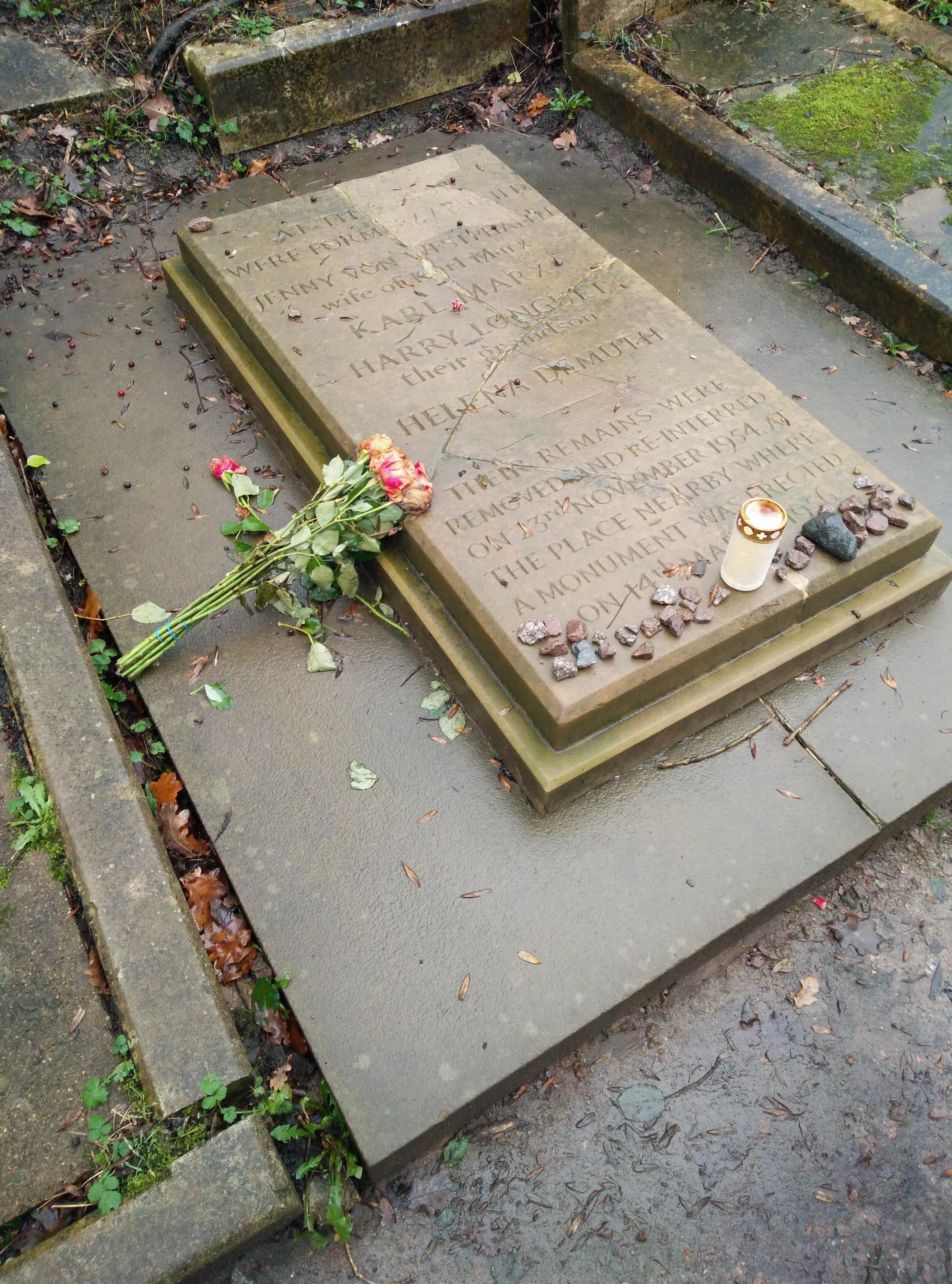 馬克思墓舊址