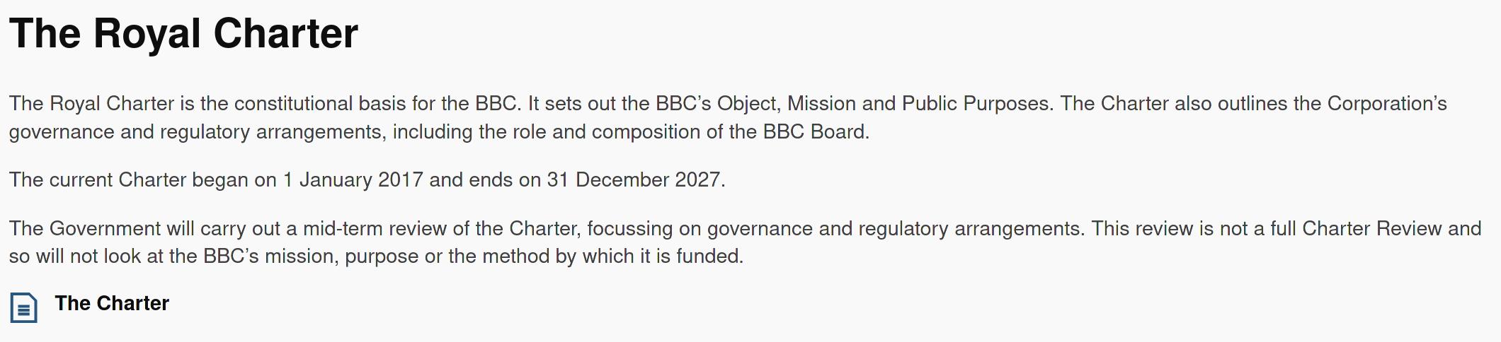 BBC information, part 2